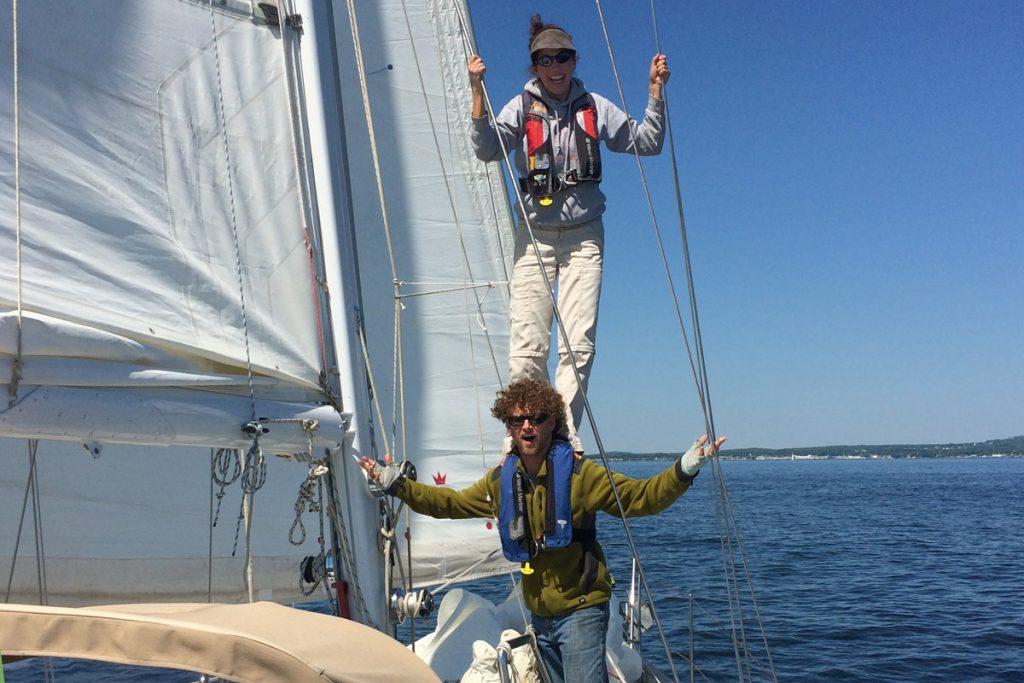 Ben & Teresa Carey love teaching sailing and having fun in the process