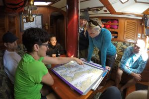 liveaboard sailing school navigation and seamanship